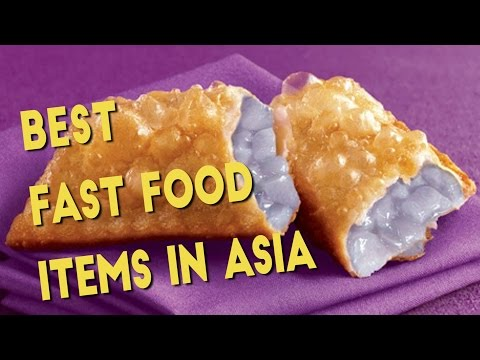 Fast Food Items in Asia We Wish Were in the US