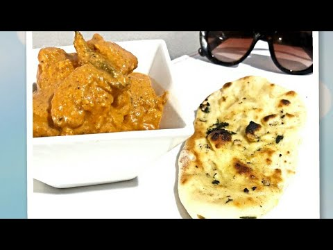 तंदूरी नान- GARLIC NAAN RESTAURANT STYLE ON TAWA- EGGLESS NAAN RECIPE WITHOUT OVEN & TANDOOR