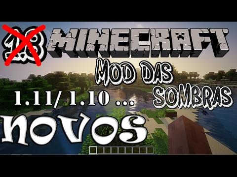 Mods- Como baixar e instalar shaders mod- Mod Das Sombras (Realista)