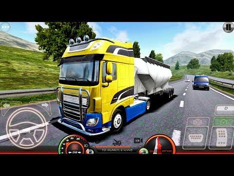 Truck Simulator Europe 2 - Truck Game Android gameplay