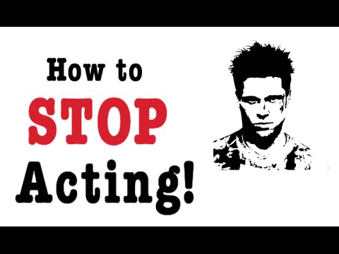 how to STOP ACTING by Harold Guskin (Book Review)
