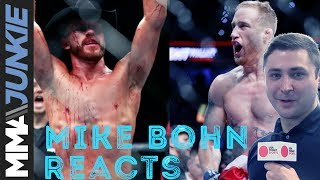 Mike Bohn reacts to Donald Cerrone vs. Justin Gaethje match booking