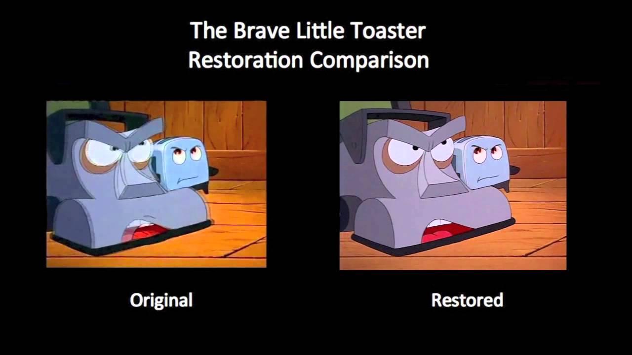 The Brave Little Toaster - Air Conditioner Scene (NSTC vs ...
