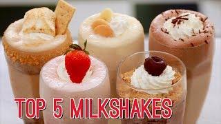 Top 5 Homemade Milkshakes - Gemma