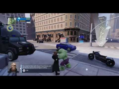Disney Infinity 2.0 - The Avengers (Wii U) Gameplay