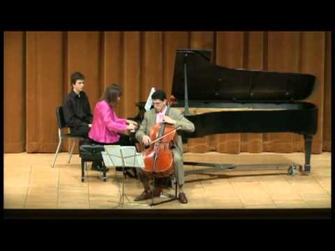 Shostakovich - Cello Sonata, Op. 40, II. Scherzo