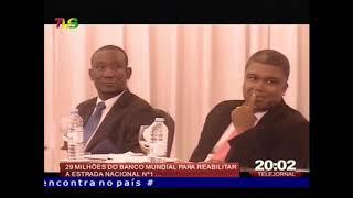 S  Tomé e Príncipe: BM financia com 29 M de dólares a reabilitação da estrada nacional n º 1