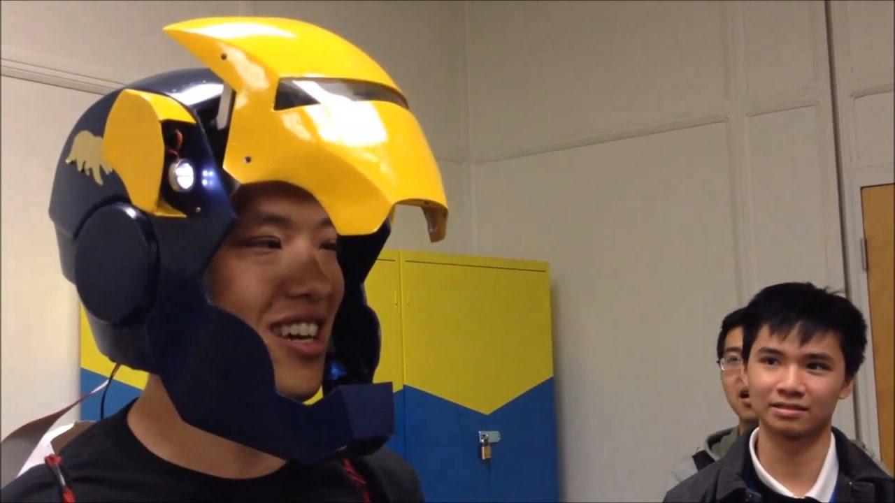 Me102b Voice Activated Ironman Helmet Youtube