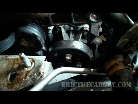 2002 Cavalier Water Pump Replacement (Part 1) - EricTheCarGuy