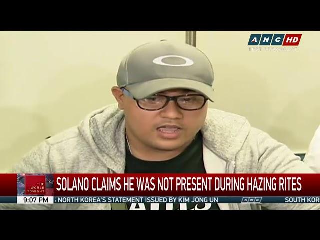 Suspect in 'Atio' hazing surrenders