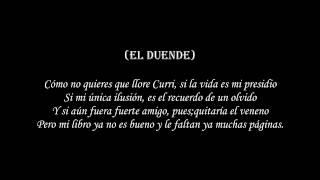 Curri C ft El duende - Alivio de tristeza (Con Letra)