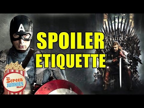 The Idiot's Guide to SPOILER ETIQUETTE