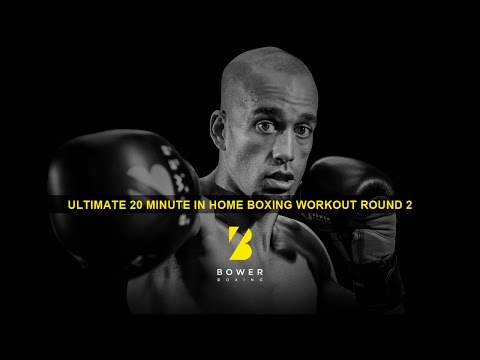 Ultimate 20 Minute In Home Boxing Workout Round 2 Image 1