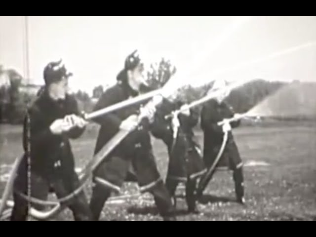Old Firefighting Training Video - Probationary Firefighter Training