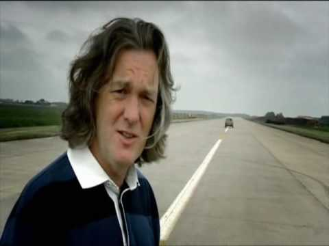 Top Gear: World record jumping backwards with a car.