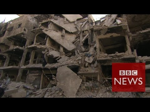 Inside Yarmouk: 'We're besieged.We're starving!' - BBC News
