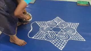 Learn kolam festival kolam Thai poosam   3