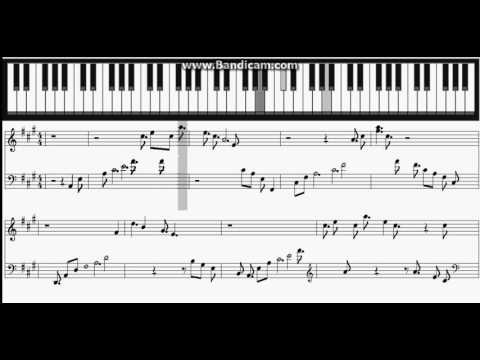 Final Fantasy XV - Stand by me Piano Sheet
