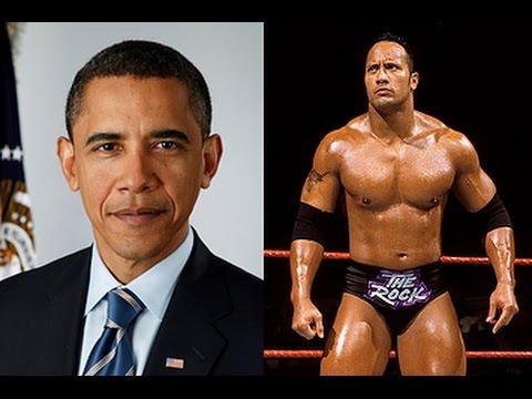 Barack Obama - The Rock  wrestler entrance (botchamania suggestion)
