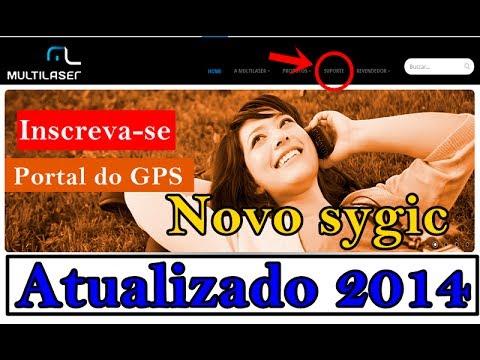 GPS Sygic Ativação de Mapas GRÁTIS