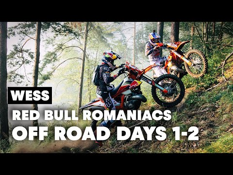 2 Extreme Off Road Days: Red Bull Romaniacs Raw Extended Highlights Part. 2 | WESS 2019