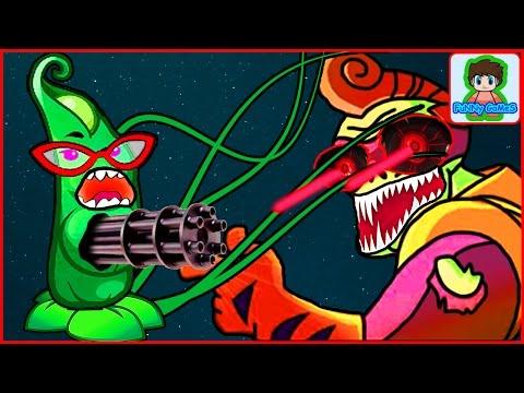 Игра Зомби против Растений  Герои от Фаника Plants vs zombies Heroes 4