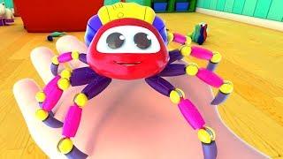 incy wincy araña   Canciones Infantiles   Incy Wincy Spider   Schoolies Español Latino