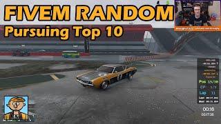 Pursuing A Top 10 Finish - GTA FiveM Random Racing Live #46