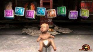 Mortal Kombat 9: Todas las Babalities (Incluidos Goro, Kintaro, Shao Kahn + DLC) - Español - PC - HD