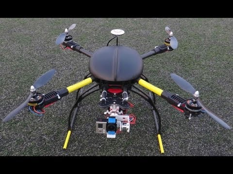 New OFM 650 V4 Special Edition Quadcopter Flight Testing