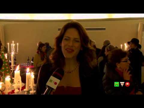 Il Natale dei 100 Alberi d'Autore – XX Edizione – Intervista a Janet De Nardis – www.HTO.tv