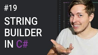 19: StringBuilder Class Methods in C# | C# Tutorial For Beginners | C Sharp Tutorial | mmtuts