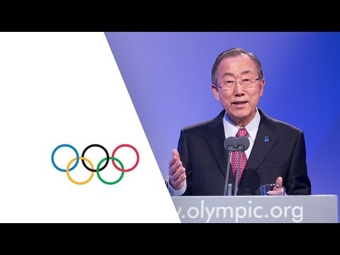Secretary General of the United Nations keynote speech at the 126th IOC Session in Sochi - Russia