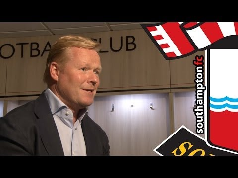 EXCLUSIVE: Ronald Koeman's first interview