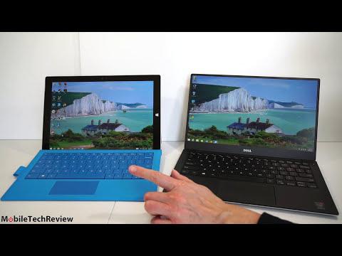 Dell XPS 13 (2015)  vs.  Microsoft Surface Pro 3 Comparison Smackdown
