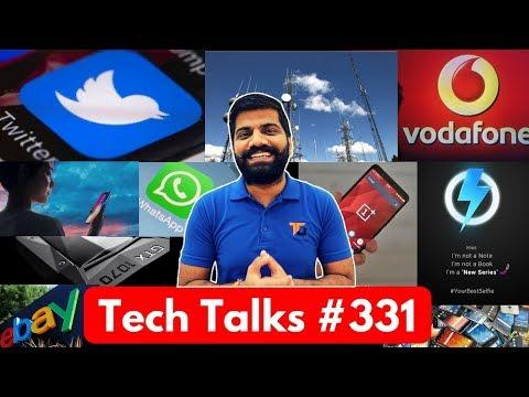 Tech Talks #331 - Vodafone 69 Plan, Xiaomi new Phone, Oneplus 5T, ISRO Quantum Computing, Twitter ML
