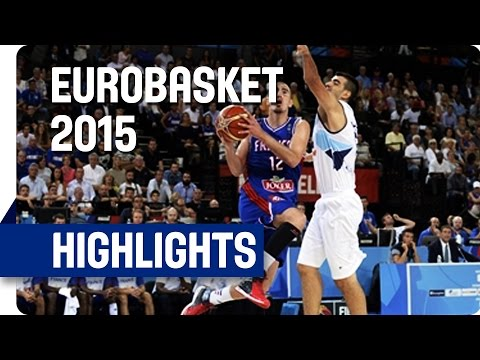 Bosnia and Herzegovina v France - Group A - Game Highlights - EuroBasket 2015