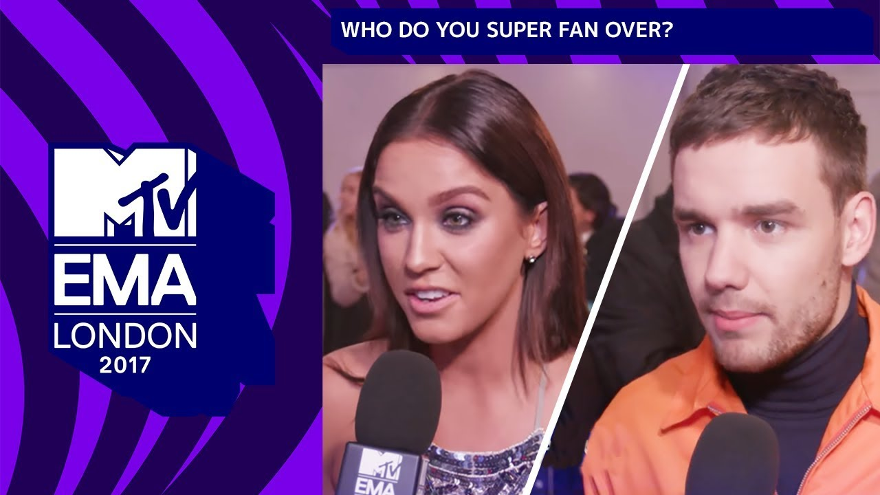 Liam Payne, Vicky Pattison & More Tell Us Who They Superfan Over | MTV EMAs 2017