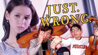 The WORST Violin Portrayal We've EVER Seen