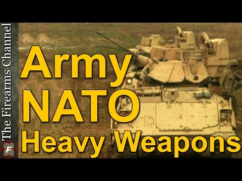 US Army and Polish NATO Forces Train With Lethal Heavy Armor