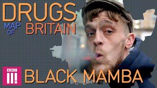 Black Mamba in Wolverhampton   Drugs Map of Britain