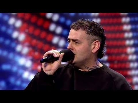 Britain's Got Talent: 42-year-old unemployed Bobby enters the Britain's Got Talent auditions in Cardiff covered in tattoos and looking very masculine, but th...