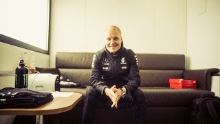 Behind-the-Scenes F1 Driver Room Tour with Valtteri Bottas