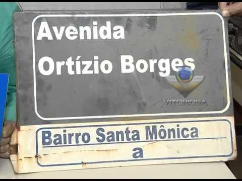 Settran instala novas placas com nomes de ruas em bairros de Uberlândia
