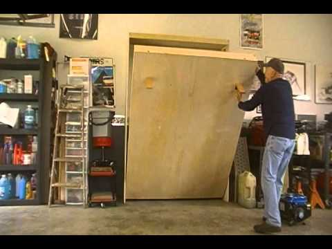 murphy bed plans youtube