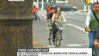 Paris bans all cars from the whole city for a day