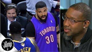 Drake/Draymond Green beef reaction: Does Drake need to 'calm it down'? | The Jump