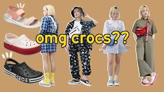 We wore & styled crocs (not stylish? ugly?) | Q2HAN