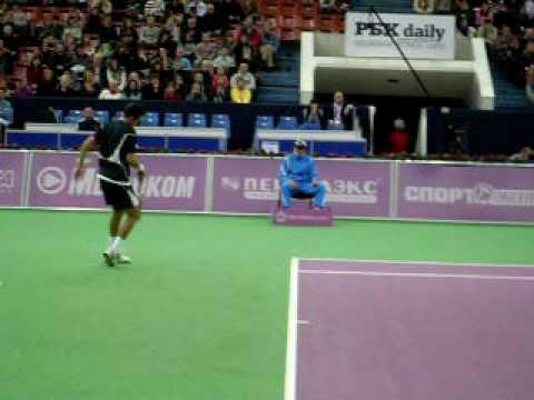 St. Petersburg Open 2009: S.Staxovsky-O. Sebaljos (set2)
