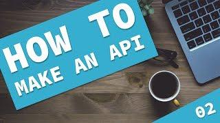 How to make a Laravel API - Tutorial 2, Seeding fake data with a factory